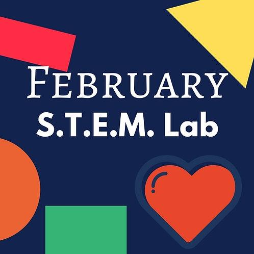 February S.T.E.M. Lab -3 Classes