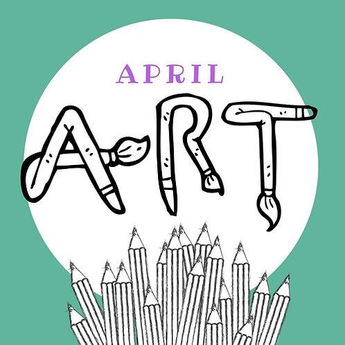 April Art - 4 Classes