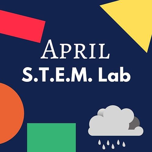 April S.T.E.M. Lab - 5 Classes