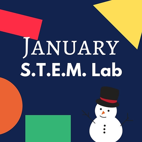 January S.T.E.M. Lab - 2 Classes