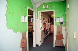A peek into our preschool hallway!