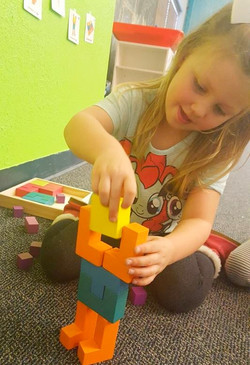 Creative block play!
