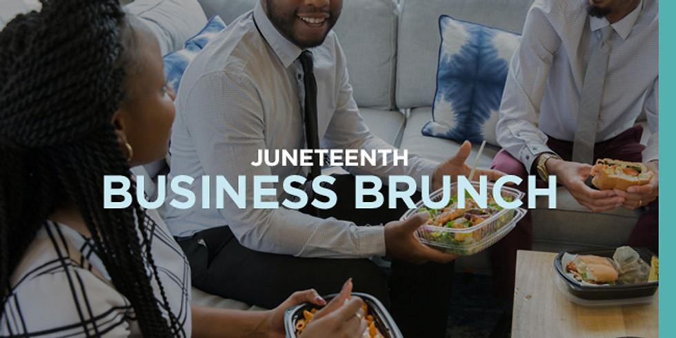 Juneteenth Business Brunch