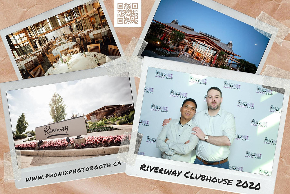Riverway Golf Course Clubhouse photobooth