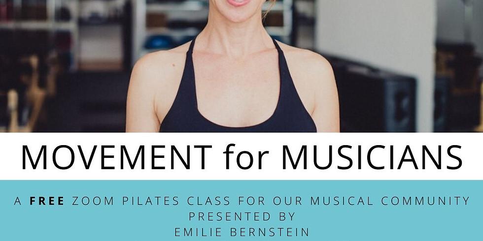 Movement for Musicians with Emilie Bernstein