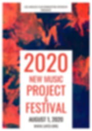 2020 New Music Project Announcement Post