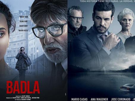 Remakes vs Original: Badla and Contratiempo