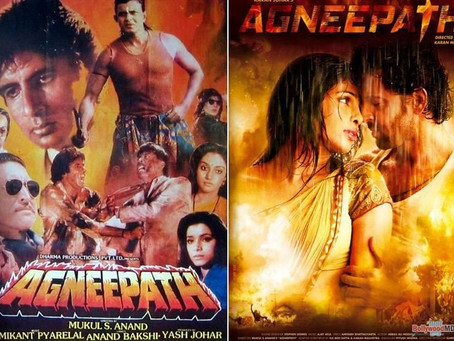 Remakes vs Original: Agneepath