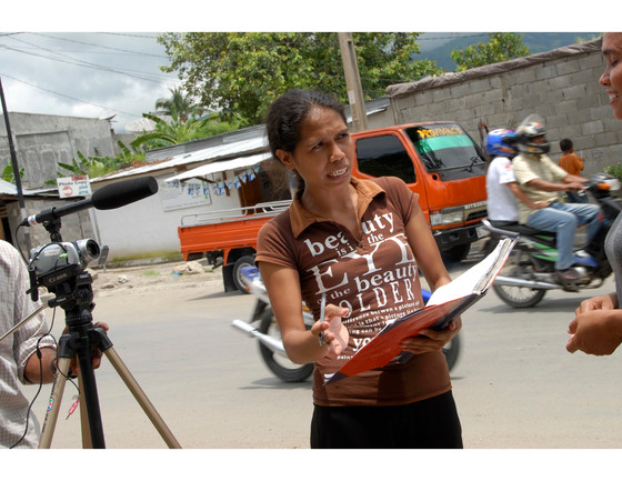 Collecting interviews: How the research on women journalists and violence came together