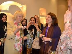 Royal Visit, gift by Heba Abed