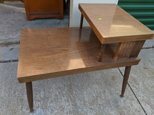 mcm end table