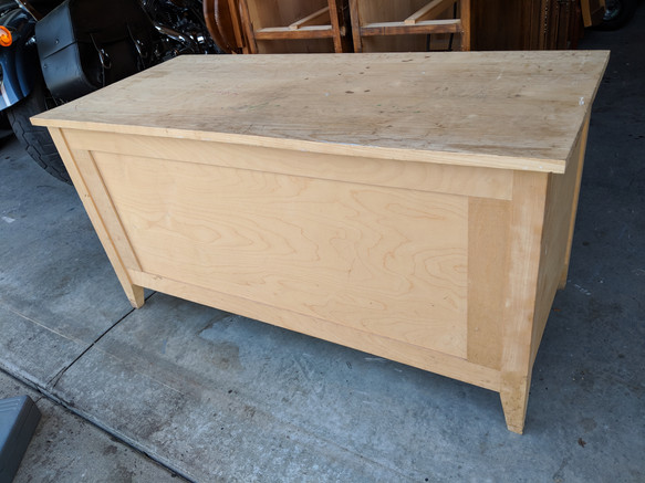 Unfinished chest