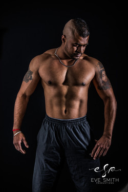 Studio photography in Randburg: sport and muscle photo