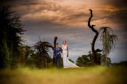 Wedding photography: sunset couple photo by Eve Smith