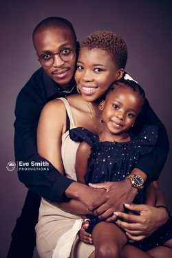 Studio photography: family shoot by Eve Smith