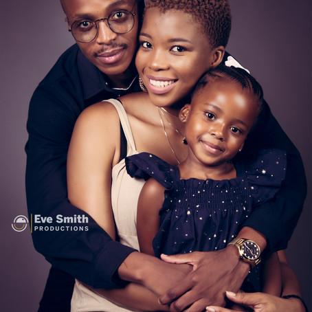 Family photography in studio