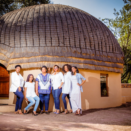 Lesedi Cultural village - Family shoot