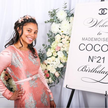 Coco's 21st birthday Album