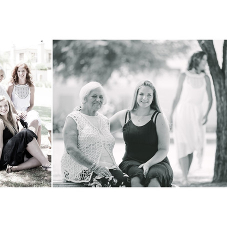 Family shoot: Gwen's album