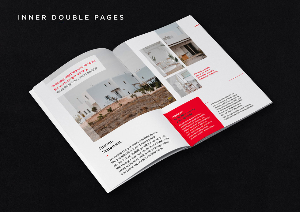 INNER DOUBLE PAGES