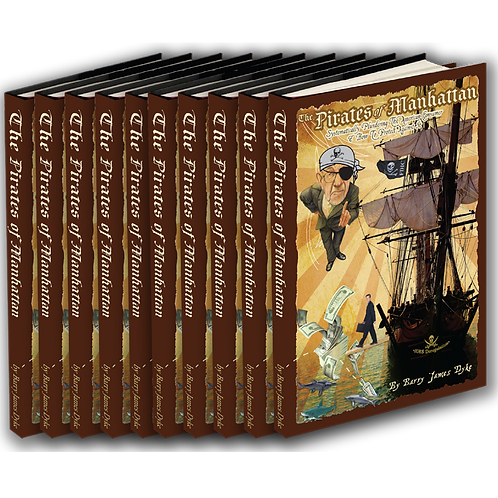 The Pirates of Manhattan - Box of 10