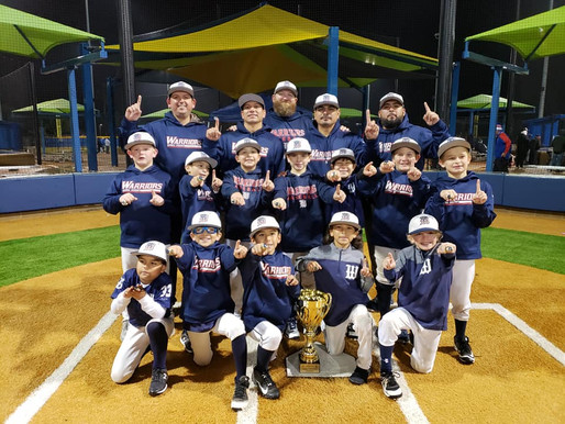 8U Warriors Boast Undefeated Record for Second Super NIT Championship