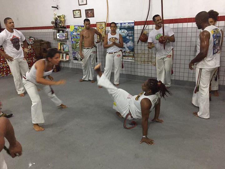 アバダ・カポエイラ リオでの練習