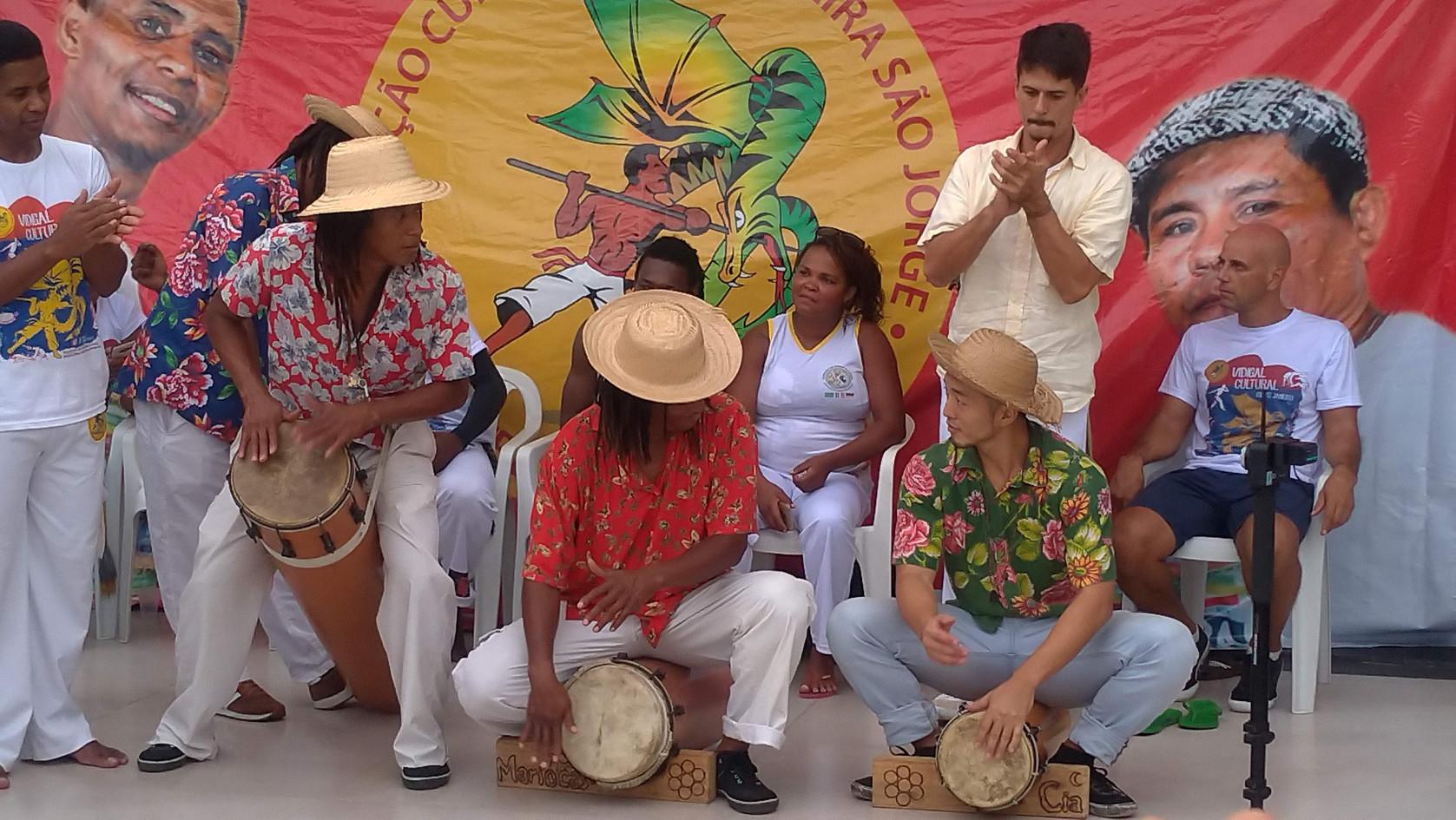 Roda de tambor Vidigal