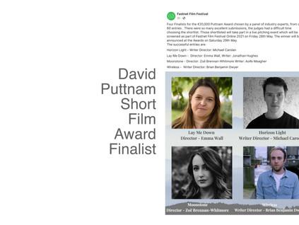 David Puttnam Short Film Award - Fastnet Film Festival 2021