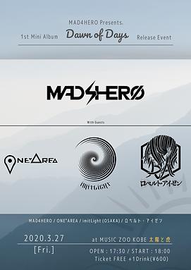 "MAD4HERO 1st Mini Album ""Dawn of Days"" Release Event"