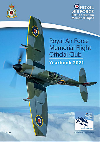 BBMF 2021 Yearbook front cover featuring