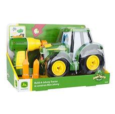 Bouw een Johny tractor  (33,5 x 21,5 x 18 cm) - batterijen inbegrepen