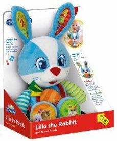 Sprekend konijn (NL/FR)  (26,3 x 16 x 32,5 cm)