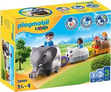 Playmobil 1.2.3. feeërieke dierentrein