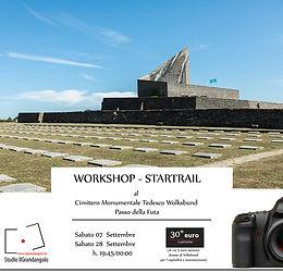 WORKSHOP STAR TRAIL Cimitero Monumentale