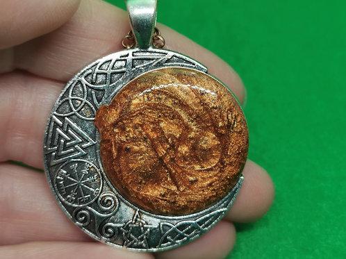 Bronze Moon Resin