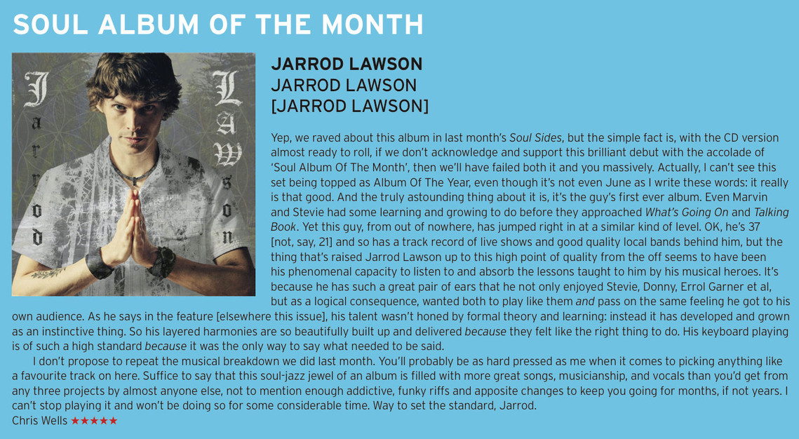 Echoes Mag - Album of the Month