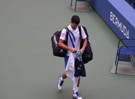 Новак Джокович дисквалифицирован с US Open | World Tennis