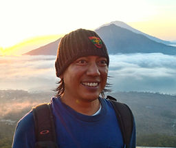 Gorra and the Mountain in Bali