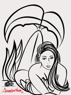 3-15-14 Mermaid Sketch.png