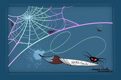 7-2-19 Spider Art