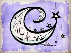 3-30-18 Moon And Stars.