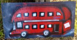 9-25-13 London Graffiti Bus
