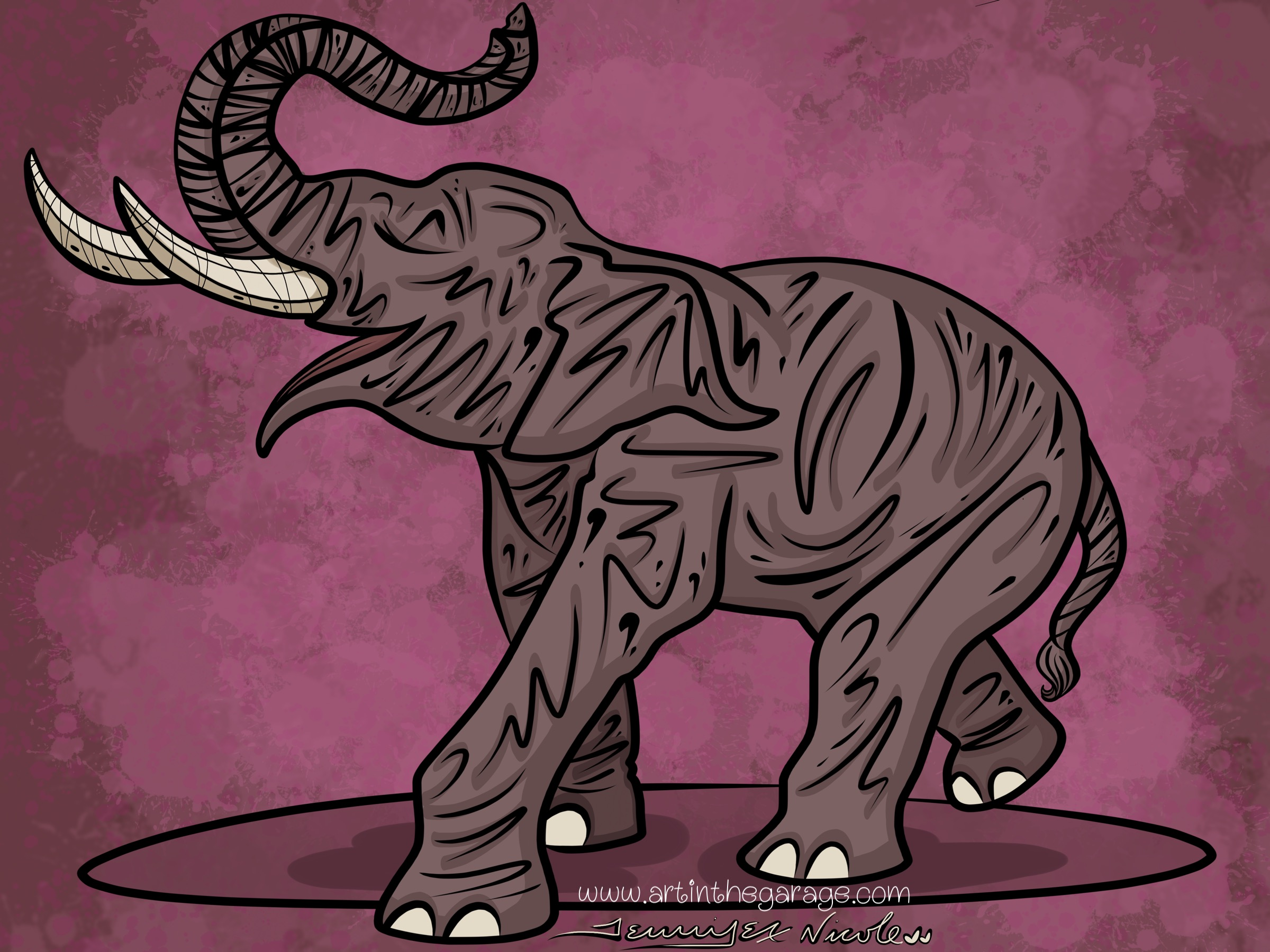 7-13-15 Elephants Are Fun