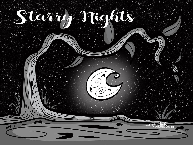4-14-20 Starry Night