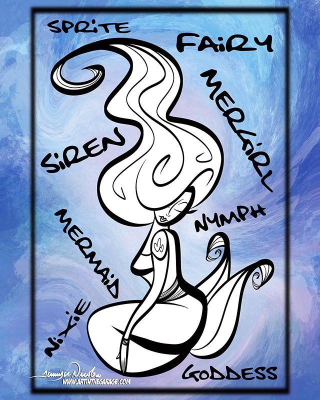 1-26-20 Mermaid Graffiti