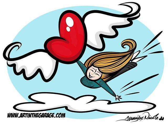 1-13-17 Zoooooom! It's just super fun being an artist!!!! #hearts #love#artfun #artoninstagram #inst
