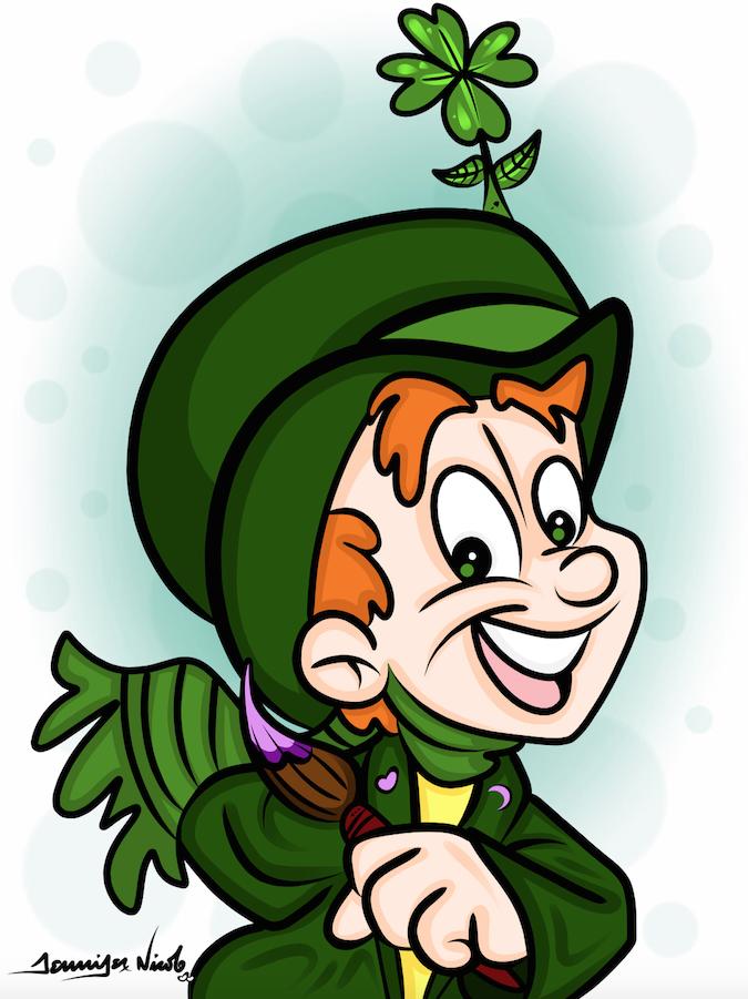 3-17-15 Lucky Little Leprechaun