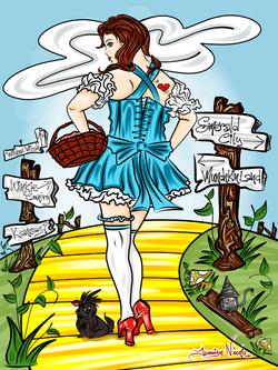 9-6-13 Dorothy In Oz