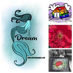 6-27-20 Dream Mermaid